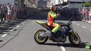 Paulo Martinho en moto - 4K  - Freestyle - Melide 2016