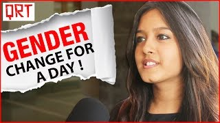 What if a GIRL Becomes a GUY? | Teens Reaction on Gender Change | SRCC College Students, DU | QRT
