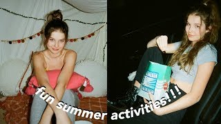 A Summer Week In My Life *desert Edition*