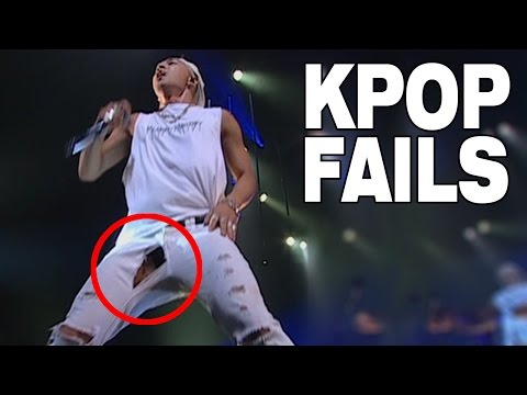 TOP 10 KPOP FAILS RIPPED CLOTHES EDITION