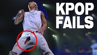 TOP 10 KPOP FAILS | RIPPED CLOTHES EDITION