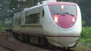 (HD) 激走!! 特急はくたか号(スノーラビット&ホワイトウイング、681系電車)