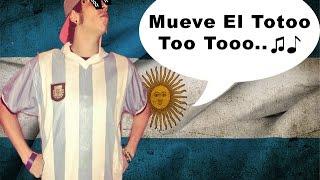 ElRubius Bailando Mueve El Toto  (Cumbia Argentina