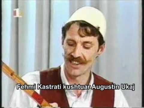 Fehmi Kastrati kushtuar Augustin Ukaj