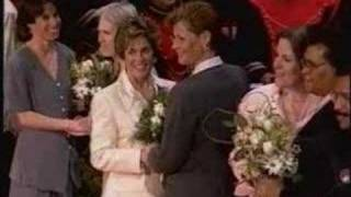 Gay - Lesban Same-Sex Marriages Allowed In California