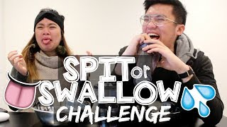 SPIT or SWALLOW CHALLENGE!! 😉👅💦