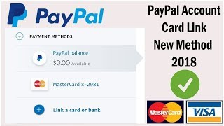 How to link virtual credit card on paypal | Paypal card link 2018 | vcc for paypal verify