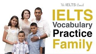 IELTS Vocabulary Practice - Family