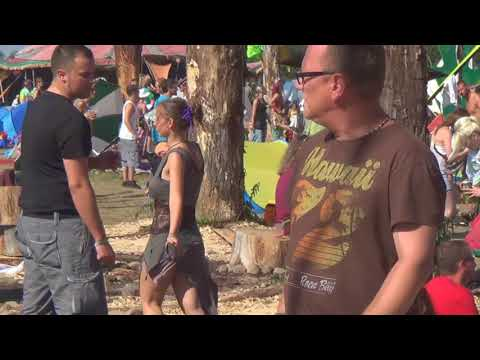 Goa Psy Trance Girls Dancing Festival