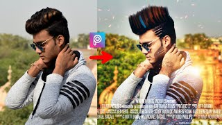 Movie Poster Design + Change Look tutorial || Cb editing || Picsart editing tutorial