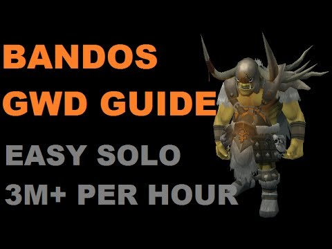 Bandos God Wars Dungeon Solo/Duo Guide - Easy PVM Money Making [Runescape 2014] EOC