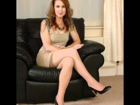 High heel and mature lady