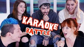 Erkennst du den Karaoke SONG? - Battle mit Rezo, Toni, Jana und Janine