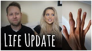 LIFE UPDATE | PREGNANT WITH RHEUMATOID ARTHRITIS AND POSSIBLE LUPUS