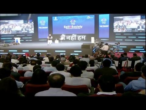 Xxx Mp4 PM Shri Narendra Modi 39 S Townhall Interaction With IT Professionals On Self4Society 3gp Sex