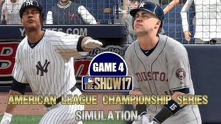 MLB The Show 17   Yankees vs Astros American League Championship Series Game 4 Simulation