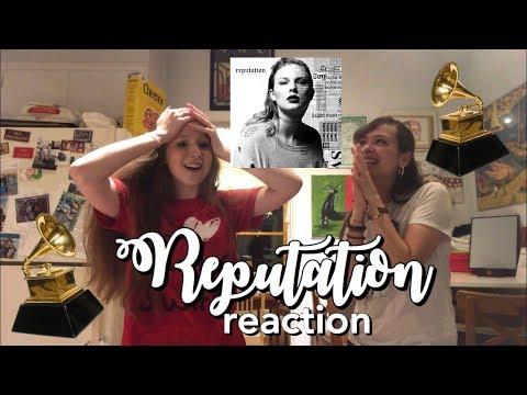 REPUTATION - TAYLOR SWIFT (REACTION)