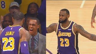 LeBron James Shocks Lakers Crowd After Taking Over In Final Minutes! Lakers vs Spurs - 42 Pts