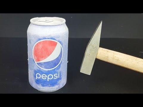 Science Experiment LIQUID NITROGEN vs PEPSI