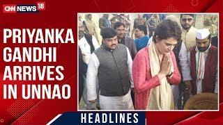 Priyanka Gandhi Arrives In Unnao Amid Outrage Over Victim's Death