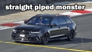 BLACKED OUT AUDI RS6 FROM HELL !!
