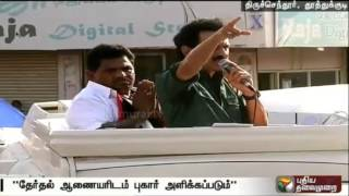 Stalin accuses ADMK of distributing cash for votes