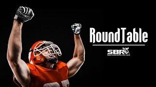 SBR Sports Betting Roundtable | College Football Gambling Stategy Room & MidWeek NFL Picks