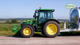 The New 5R Compact tractor - Suspension