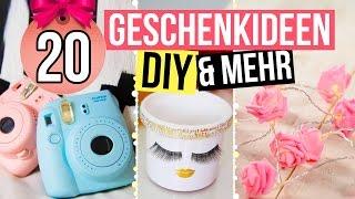 20 GESCHENKIDEEN! - einfache DIYs und Kaufbares!