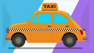 Kids TV Channel | Taxi | vehicle assembly | cartoon videos for kids