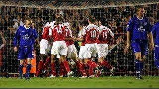 Arsenal 7-0 Everton PL 2004/05 FULL MATCH