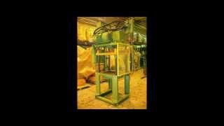Used 35 Ton Metal Mechanics Trim Press No. 3722