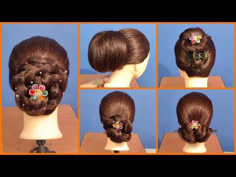 Xxx Mp4 Anjali S Bun Hairstyles Part 24 5 Very Easy Cute Hairstyles On Mannequin Head 3gp Sex