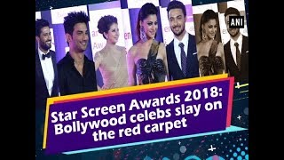 Star Screen Awards 2018: Bollywood celebs slay on the red carpet - #Entertainment News