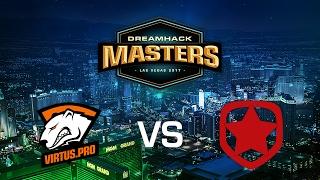 Virtus Pro vs. Gambit - Cobblestone - Group B - DreamHack Masters Las Vegas 2017