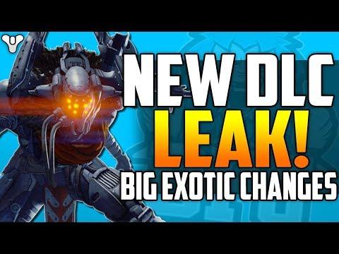 Destiny 2 NEW DLC LEAK & BIG EXOTIC CHANGES