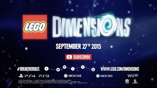 LEGO Dimensions - Announcement Trailer (Extended Version)