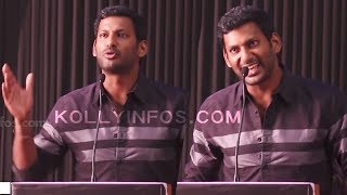 நீ யாருன்னு தெரியும் எங்க இருக்கான்னு தெரியும் | TamilRockers | VISHAL  Thupparivaalan Teaser Launch