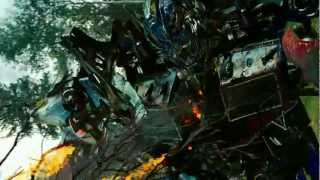 Transformers Revenge Of The Fallen Optimus Prime VS Megatron & Starscream & Grindor