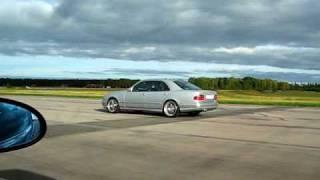 E55 AMG V8 W210 Vs BMW M3 E46
