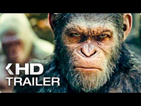 WAR FOR THE PLANET OF THE APES Trailer 2017