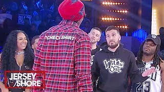 Jersey Shore Meets Wild 'N Out 👀 MTV