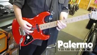 Palermo PG3 Guitar Test with EVH 5150 EL34 100 Watt Half Stack