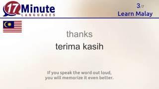 Learn Malay (free language course video)