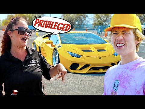 Taking My 1000HP Lamborghini To A Car Show She Was Pissed