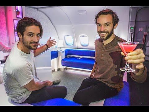 VIP LUXURY BAR BIGGEST AIRPLANE IN THE WORLD