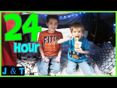 Xxx Mp4 24 Hours In Our BLANKET FORT MANSION Jake And Ty 3gp Sex