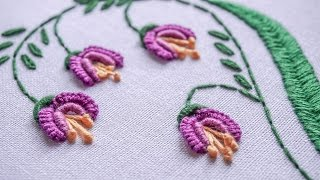 DIY Embroidery Ideas | Stitching Flower Design by Hand | HandiWorks #81