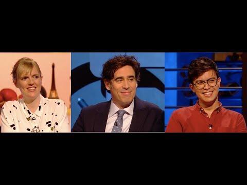 Room 101, Series 7, Episode 6. Holly Walsh, Stephen Mangan, Phil Wang. 30 Mar 2018