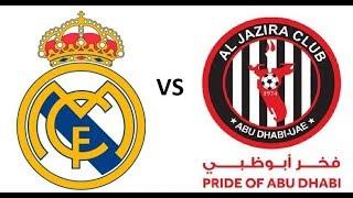 Real Madrid vs Jazira Abu Dhabi